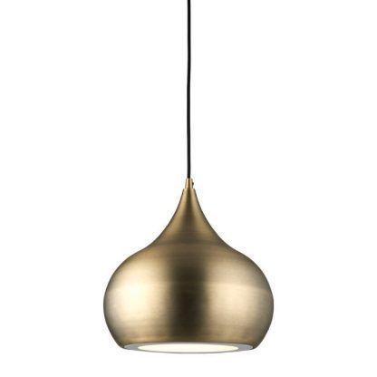 lampa wisząca nad stół do kuchni mosiądz