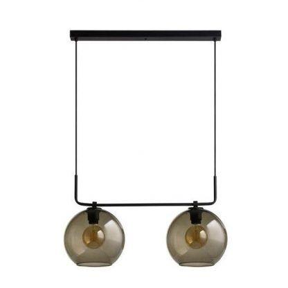 lampa wisząca nad stół szklane klosze nowoczesna