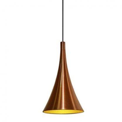 lampa wisząca nowoczesna ciepłe złoto