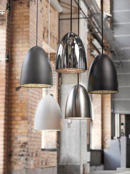 lampa wisząca oświetlenie punktowe nowoczesna