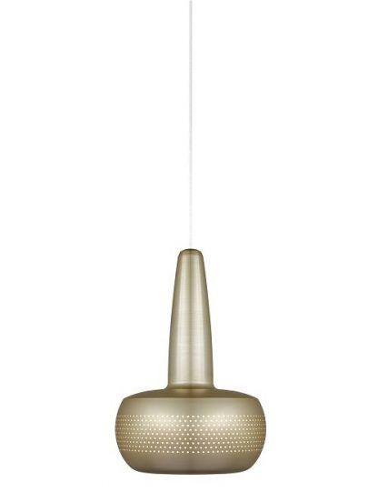 lampa wiszaca umage z mosiądzu nad stolik kawowy