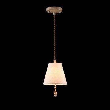 lampa wisząca vintage biały abażur
