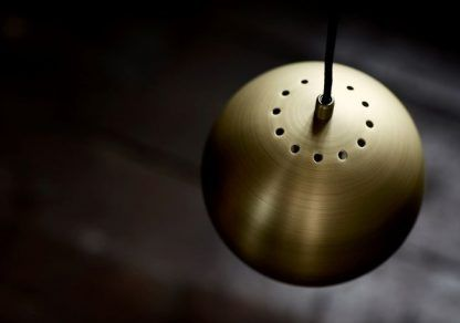 Lampa wisząca w kolorze mosiądzu - super jakość