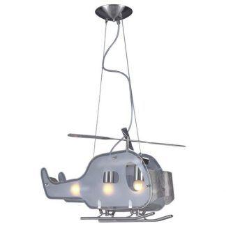 lampa wisząca w kształcie samolotu pokój chłopca