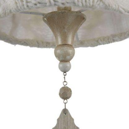 lampa wisząca w stylu rustykalnym