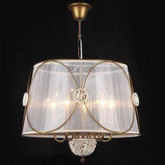 lampa wisząca z antycznymi motywami