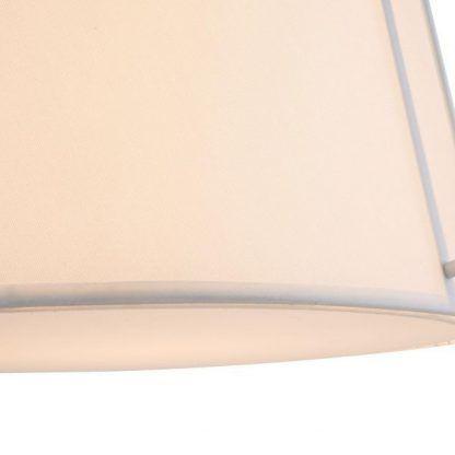 lampa wisząca z białym kloszem do kuchni