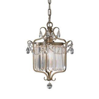 lampa wisząca z kryształkami złota baza