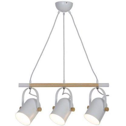 lampa wisząca z trzema kloszami
