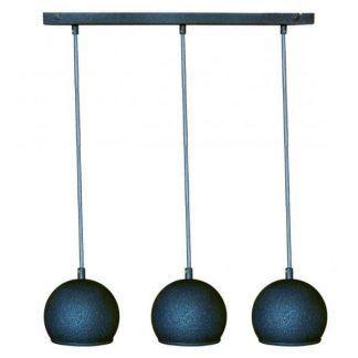 lampa wisząca z trzema małymi kulami nad stół