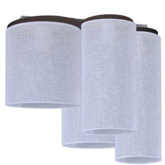 lampa z wieloma kloszami - sufitowe spoty