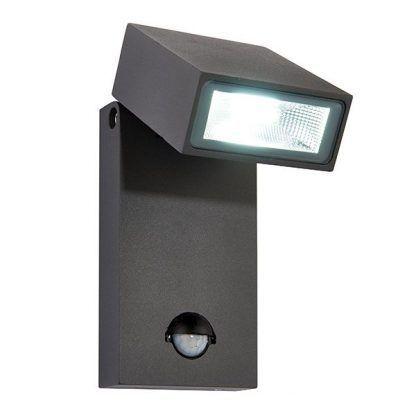 lampa zewnętrzna z czujnikiem ruchu na schody lub elewację