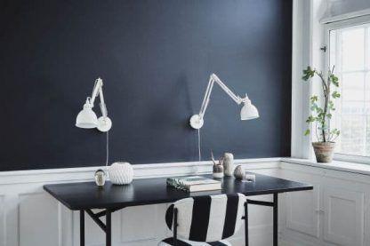 lampy biurkowe do biura i ciemnych ścian - 2 obok siebie