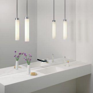 lampy wiszące nad zlew do łazienki - małe tuby