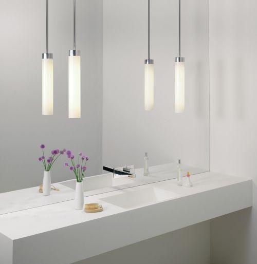 wiszace lampy do łazienki