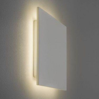 ledowy kinkiet w kształcie kwadratu nowoczesny