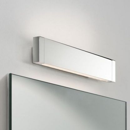 ledowy nowoczesny kinkiet łazienkowy nad lustro - długi