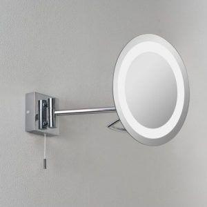 lustro makijażowe z powiększeniem do łazienki