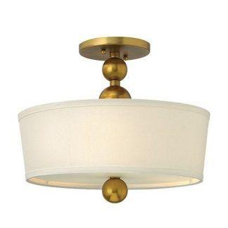mała lampa wisząca ze złotymi kulami do korytarza