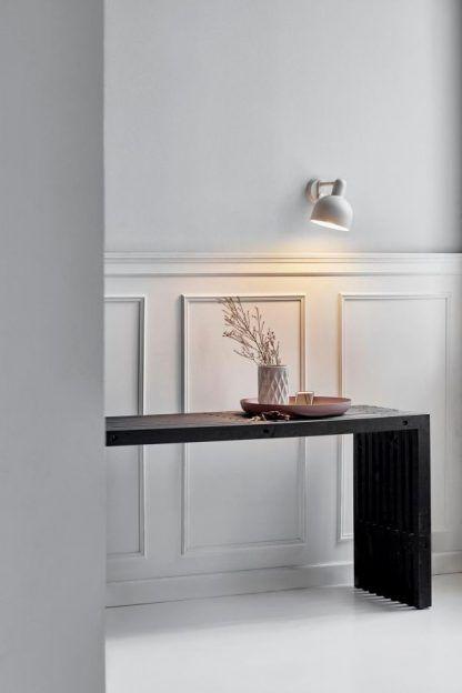 mały kinkiecik na ścianę do oświetlenia stołu - skandynawski