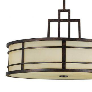 Metalowa geometryczna podstawa lampy brązowa do sypialni
