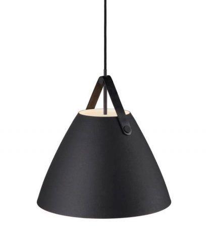 metalowa lampa wisząca do kuchni scandi