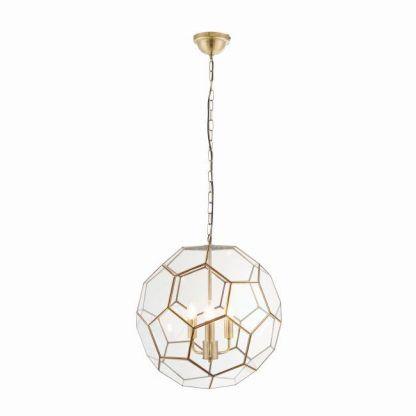 miele lampa wisząca geometryczna szklana forma