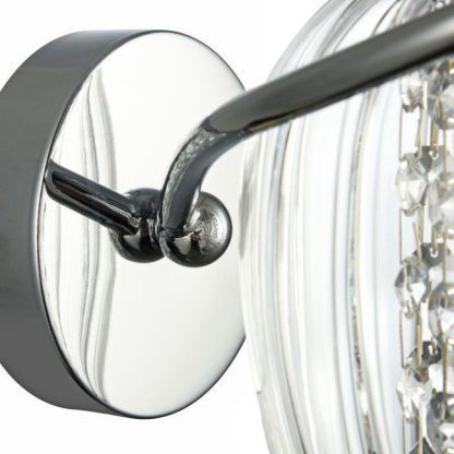 mocowanie kinkiety kryształowego