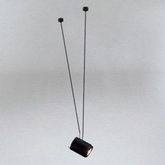 nowoczesna czarna lampa wisząca do salonu