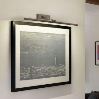 nowoczesna lampa do oświetlenia obrazu w korytarzu lub salonie
