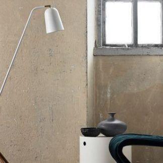 Nowoczesna lampa podłogowa Giraffe biała