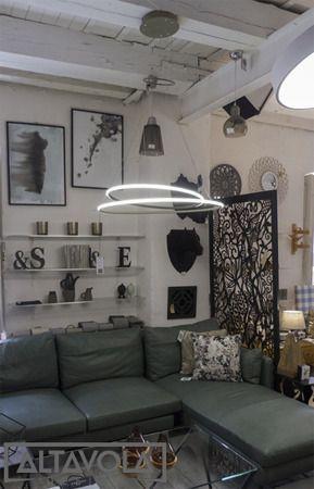 Lampa wisząca Shape kolor biały LA074P_80r_out_4k_white