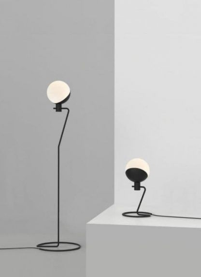 nowoczesne lampy szklane klosze na drucikach