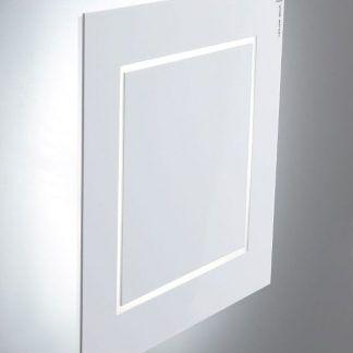 nowoczesny kinkiet led biały kwadrat