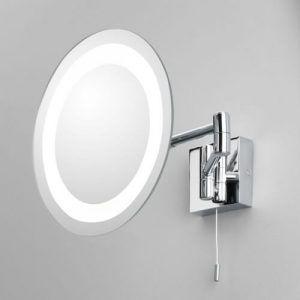powiększające lustro do makijażu łazienkowe