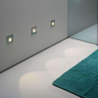 oczka ścienne do zabudowy w łazience w płytkach