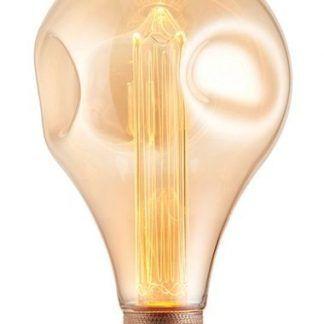 ozdobna żarówka dekoracyjna - lekko żółta
