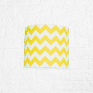 piękna biało żółta lampa dla dziecka do pokoju