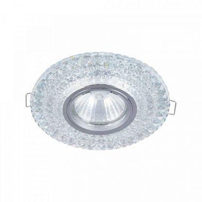 piękne kryształowe oczko zdobione do salonu glamour