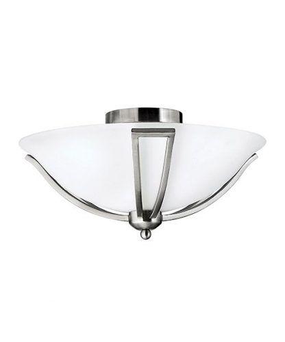 plafon szklany ze srebrem do korytarza lub wiatrołapu