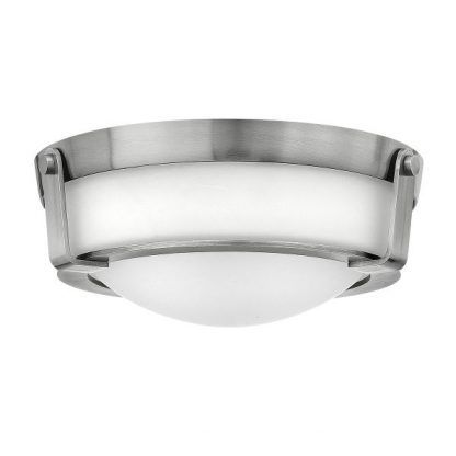 plafon w stylu hampton srebrno biały do łazienki lub korytarza