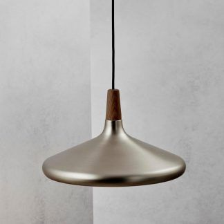 płaska lampa wisząca do salonu nad stół