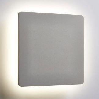 płaski kinkiet kwadratowy do dekoracji ściany
