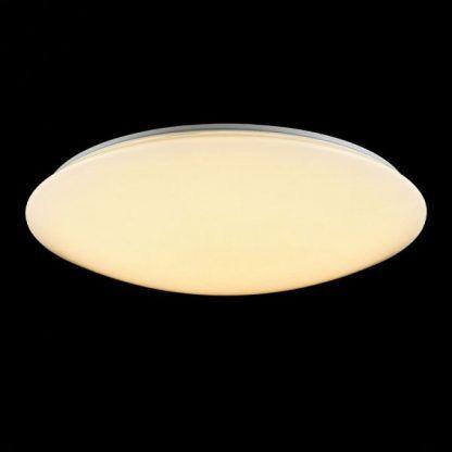 płaski nowoczesny plafon - sufitowa lampa do łazienki