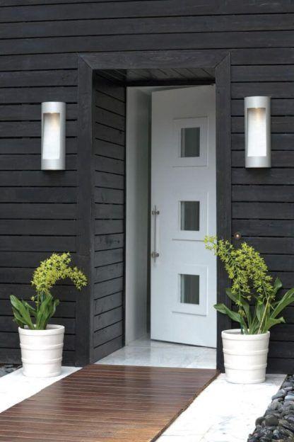 podłużny kinkiet zewnętrzny oświetlenie drzwi wejściowych