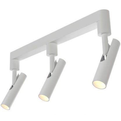 potrójny reflektor na szynie nowoczesny z możliwością składania tub