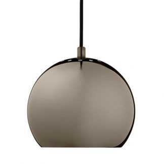 Prosta i elegancka lampa wisząca Ball do sypialni
