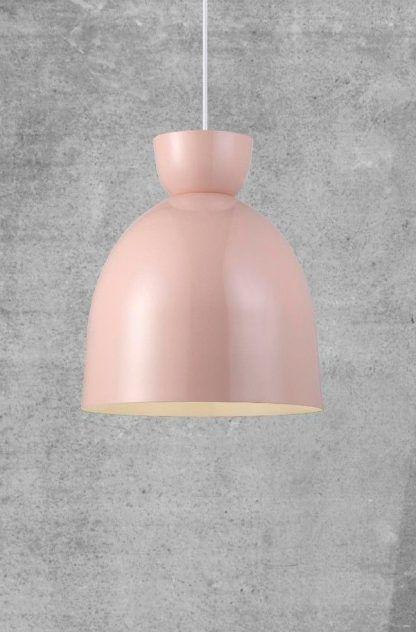różowa lampa wisząca - gdzie ją powiesić?