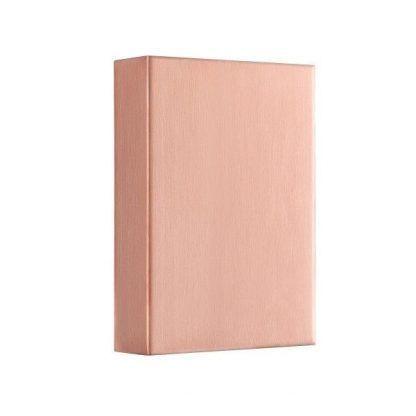 różowy kinkiet na ścianę - nowoczesny