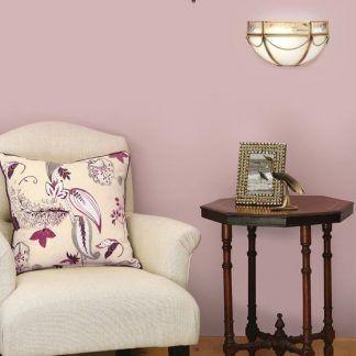 russell mleczne lampy do jasnoróżowego salonu